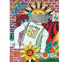 Brittney Griner Drawing Photographic Print