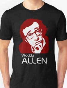 Woody Allen Director Movies stencil Unisex T-Shirt