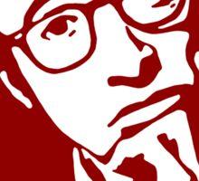Woody Allen Director Movies stencil Sticker
