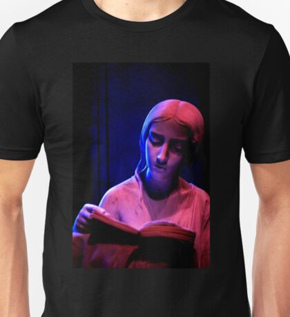 The Lady Reading at Night Unisex T-Shirt
