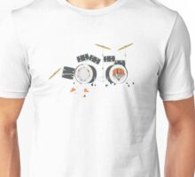 Keith Moon's Exploding Drum Kit Unisex T-Shirt