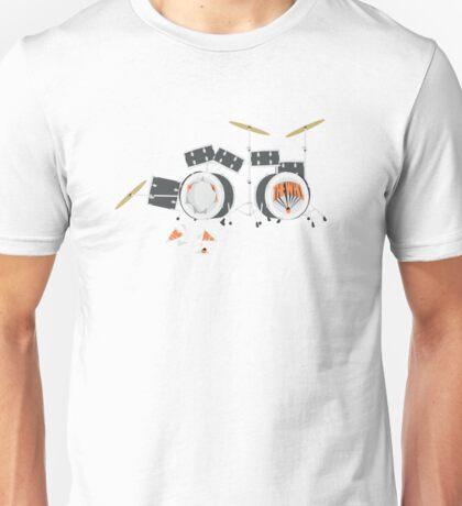 Keith Moon's Exploding Drum Kit Unisex T-Shirt