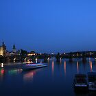Charles Bridge Prague by Night by espanek