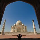 Taj Mahal by Aziz Dhamani