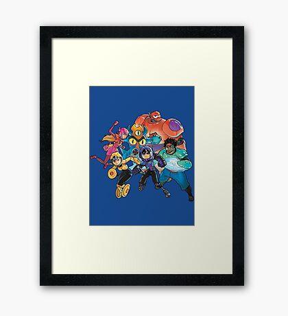 Big Hero 6 Framed Print