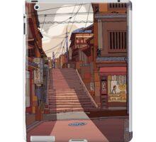autumn steps iPad Case/Skin