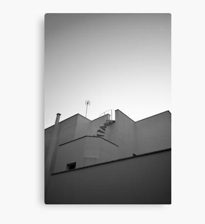 The sky & a building. Canvas Print
