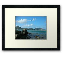 Orient Bay - Saint Martin  Framed Print