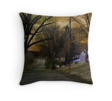 Country Lane Throw Pillow