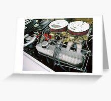 Dual Quads Greeting Card