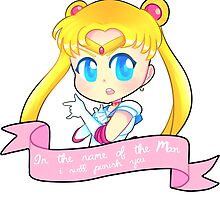 In the name of the moon, I will punish you! by patonautas