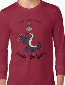 Team Honey Badgers Long Sleeve T-Shirt