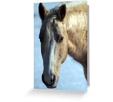 Blond Beauty  Greeting Card