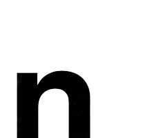 Helvetica Lowercase - n by edgargarcia
