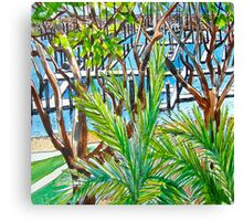 Shingley Beach Canvas Print