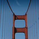 San Francisco Bridge by wannabewriter81
