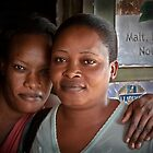 Sisters Of Bundibugyo by Peter Maeck