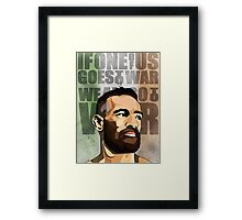 The Notorious Framed Print