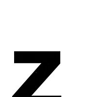 Helvetica Lowercase - z by edgargarcia