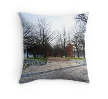 Greenwich1 Throw Pillow
