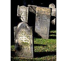 Jewish Cemetery Photographic Print