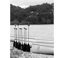 oar in arow Photographic Print