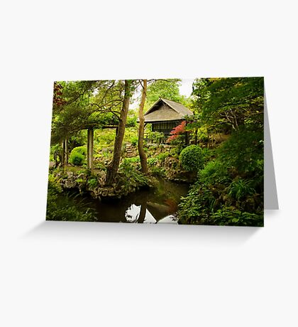 Oasis of Serenity Greeting Card