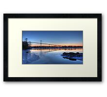 Thousand Islands Sunrise Framed Print