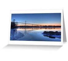 Thousand Islands Sunrise Greeting Card