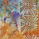 Three Sun Eyes Over the Cosmos by Kay Hale