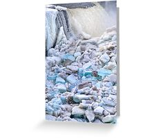 Ice Garden Greeting Card
