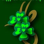 St. Patrick's Tribal Shamrocks by patjila