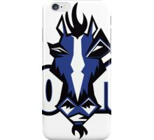 Indianapolis Colts logo 1 iPhone Case/Skin