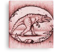 The Carnotaurid Canvas Print