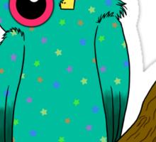 Starry Owl Sticker