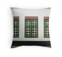 3 squared Throw Pillow