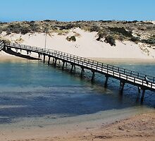 Port Noarlunga Foot Bridge by Morgan Smith