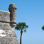 Southeast corner, Castillo San Marcos by Ben Waggoner
