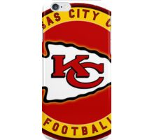 Kansas City Chiefs logo 3 iPhone Case/Skin