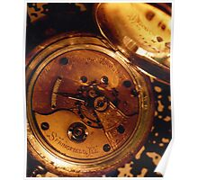 Antique Watch Innards Poster