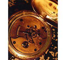 Antique Watch Innards Photographic Print
