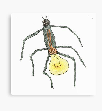 light bulb bug Metal Print