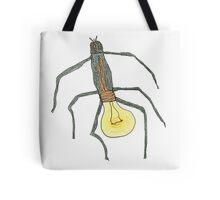 light bulb bug Tote Bag