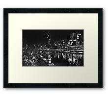 South Bank , Melbourne   Framed Print