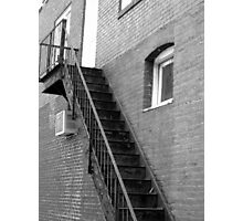 Old Fire Escape - Mars Hill, N.C. Photographic Print
