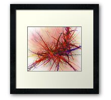 Fractal Paint - Abstract Framed Print