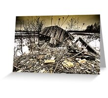 all fall down.. Greeting Card
