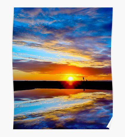Sunset Run Poster