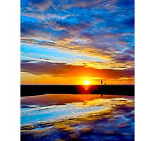 Sunset Run Photographic Print