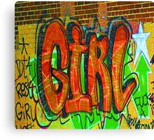 Girl........ Canvas Print